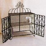 CHURCH IRON 2LAYER SHELF