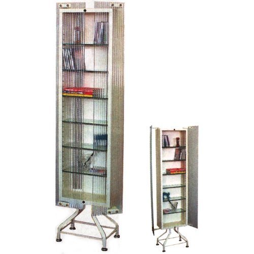 DIMPLE GLASS CD CABINET